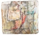 Der letzte Punkt. 2010. 130 x 118 cm