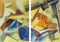 Frühstück. 1999. á 43 x 61 cm