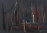 Bäume. 2011. 70 x 50 cm