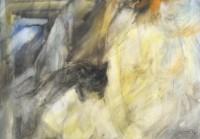Schwarze Katze. 1996. 73 x 51 cm