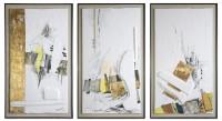 Zeitzeugen II, III, IV. 1999. 98 x 58 cm